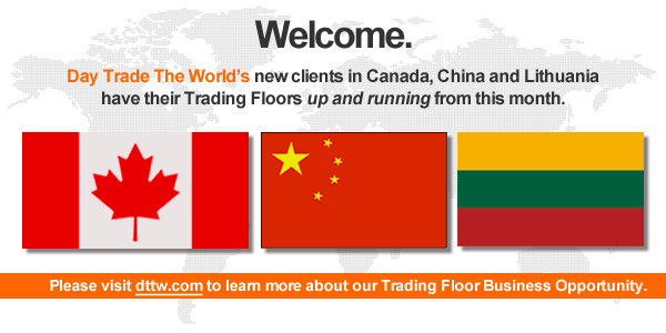 Day Trade The World welcomes 3 New Clients in Canada, China and Lithuania