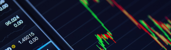 close up photograph of technical analysis chart