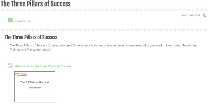 new manager training - 3 pillars of success